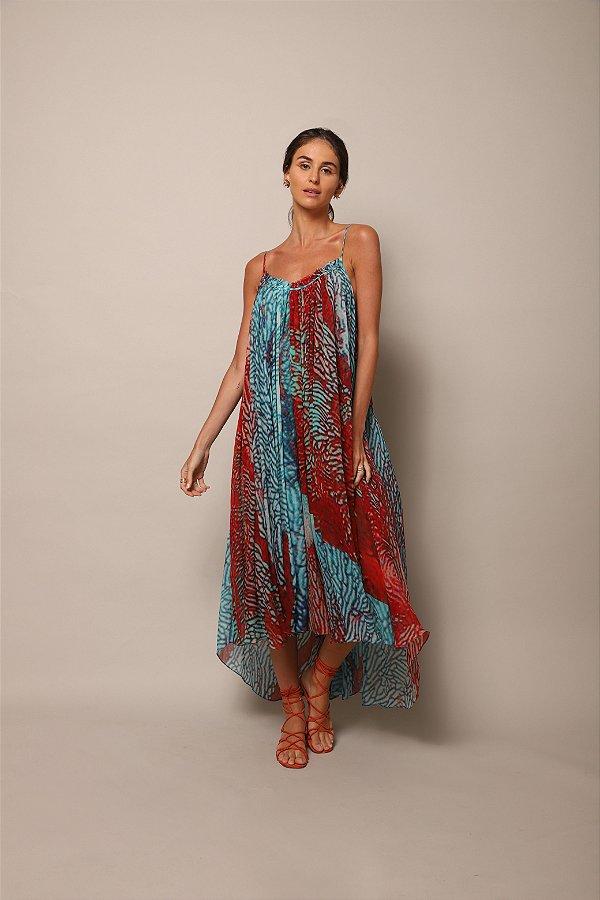 Vestido Regata Corais