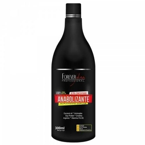 Shampoo Anabolizante Fortificante 300ml Forever Liss