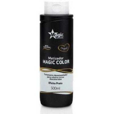 Magic Color Matizador Tradicional Desamarelador Efeito Prata 500ml