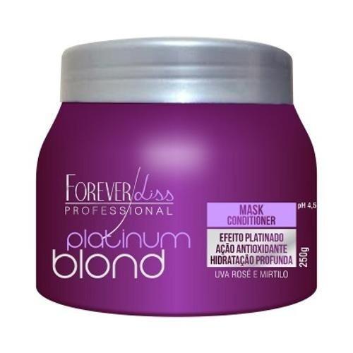 Máscara Matizadora Platinum Blond 250g Forever Liss