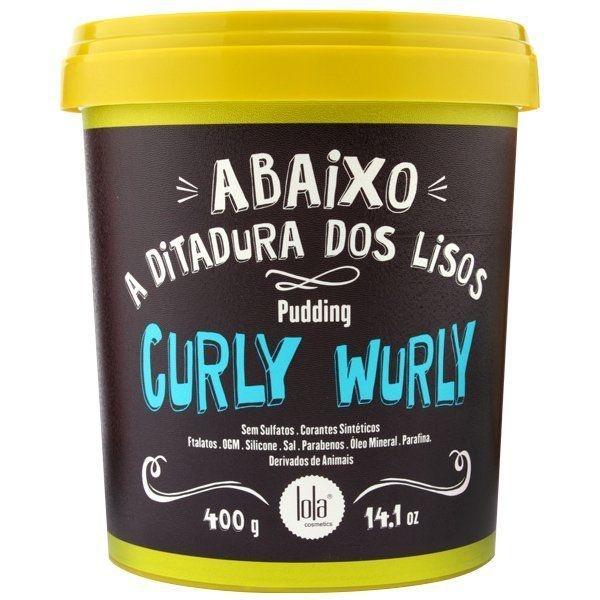 Pudding Curly Wurly Cabelos Cacheados Lola 400g