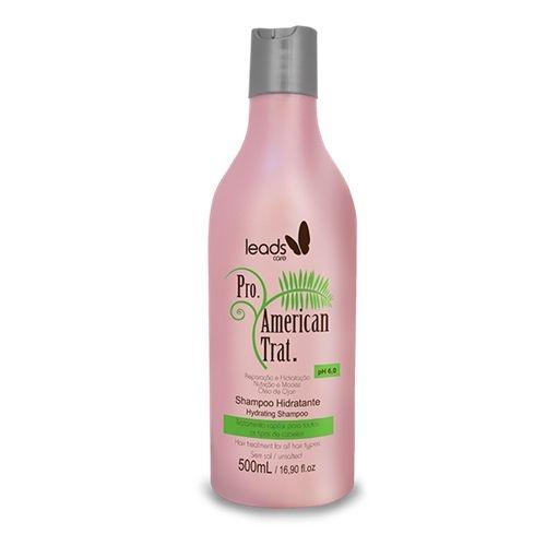 Shampoo Hidratante Pro. American Trat. Leads Care 500ml