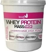 Máscara Whey protein Massa Mask Leads Care 250g