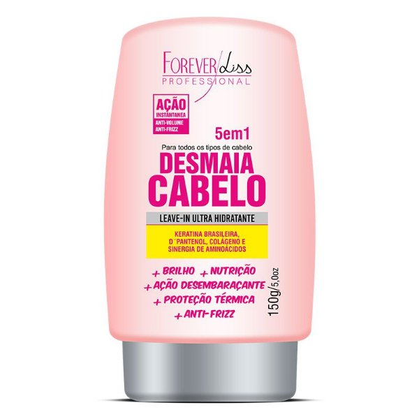 Leave in Ultra Hidratante Desmaia Cabelo Forever Liss 150g