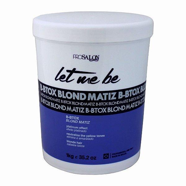 Btox Capilar Let Me Be Blond Matiz 1Kg Prosalon