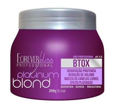 Btox Matizador Platinum Blond Forever Liss 250g