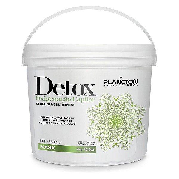 Máscara Detox Oxigenação Capilar Plancton 2Kg