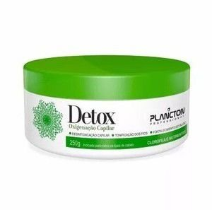 Máscara Detox Oxigenação Capilar Plancton 250g