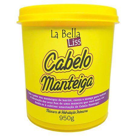 Máscara Cabelo Manteiga La Bella Liss 950g