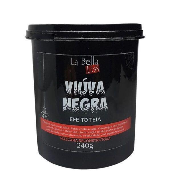 Máscara Reconstrutora Viúva Negra La Bella Liss 250g