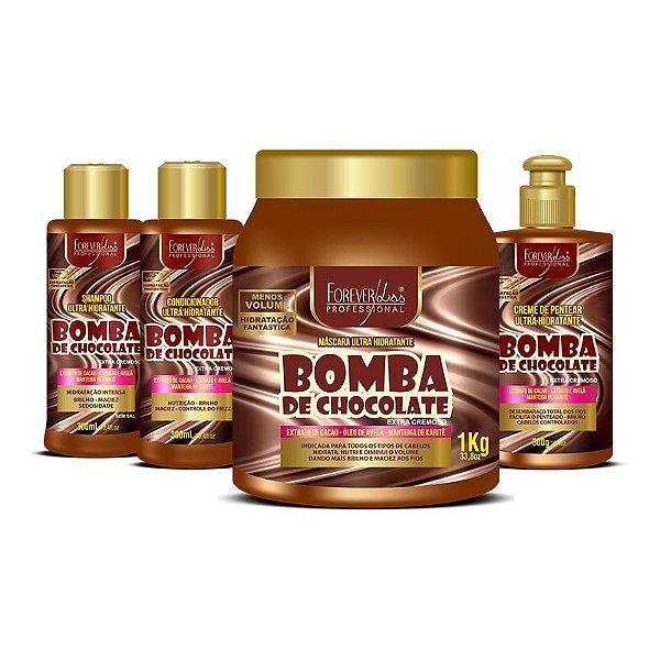 Kit Bomba de Chocolate Profissional Forever Liss