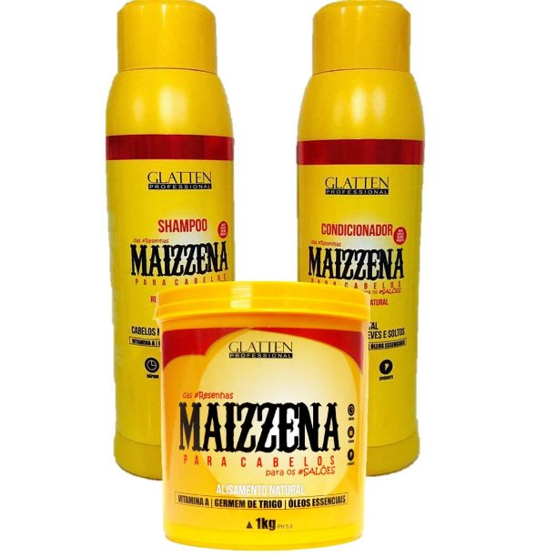 Kit completo Maizzena Glatten Profissional