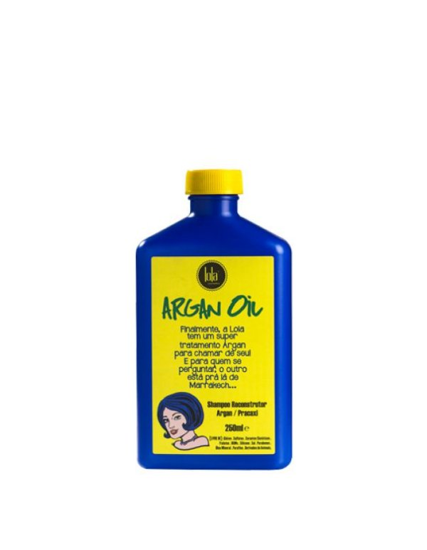 Shampoo Reconstrutor Lola Argan Oil/Pracaxi 250ml