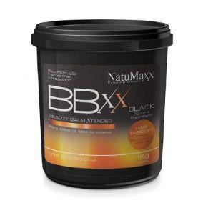 Btox Beauty Balm Xtended Black Natumaxx 1Kg