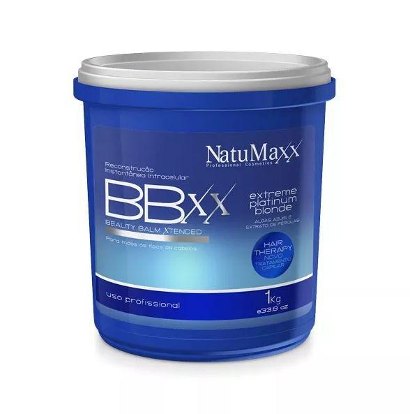 Btox Beauty Balm Xtended Platinum Natumaxx 1Kg