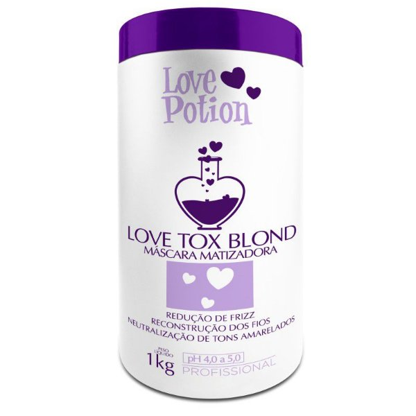 Btox Love Tox Blond Matizador Love Potion
