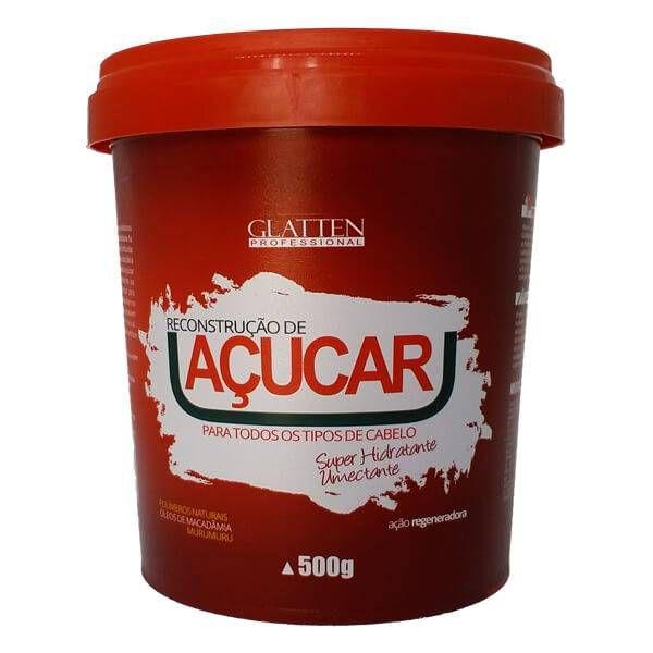 Máscara Hidratação de Açúcar Glatten 500g