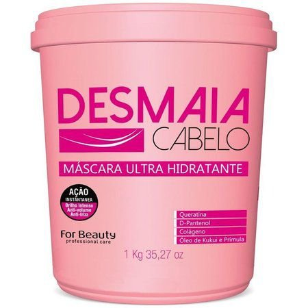 Máscara Desmaia Cabelo For Beauty 1Kg