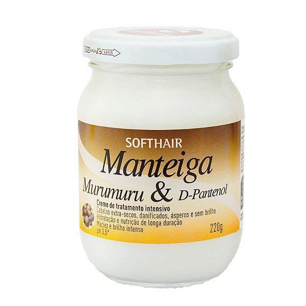 Manteiga Soft Hair Murumuru e D-Pantenol 220g