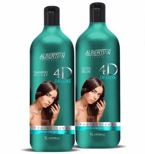 Escova Progressiva Albertian 4d Deluxe
