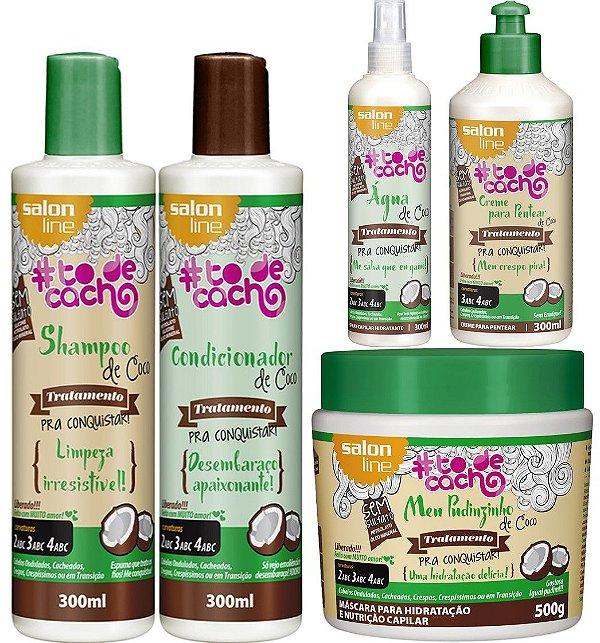 Kit de Coco #todecacho Salon Line Completo