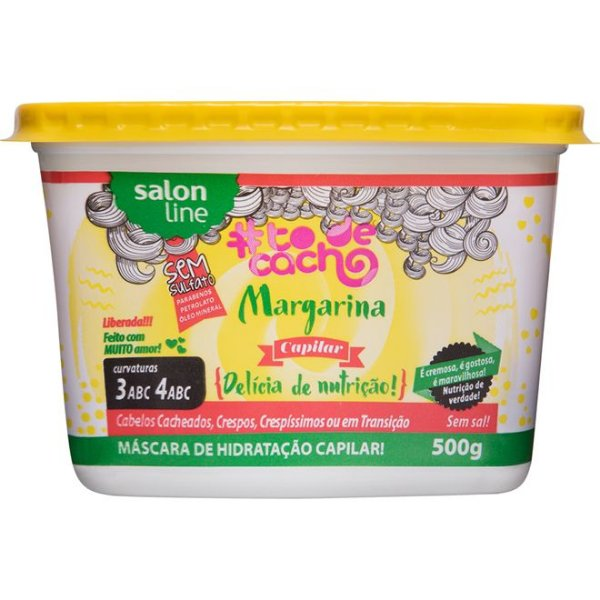 Margarina Capilar #todecacho Salon Line 500g