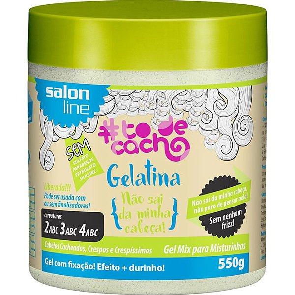 Gelatina Não Sai da Minha Cabeça! #todecacho Salon Line 550g