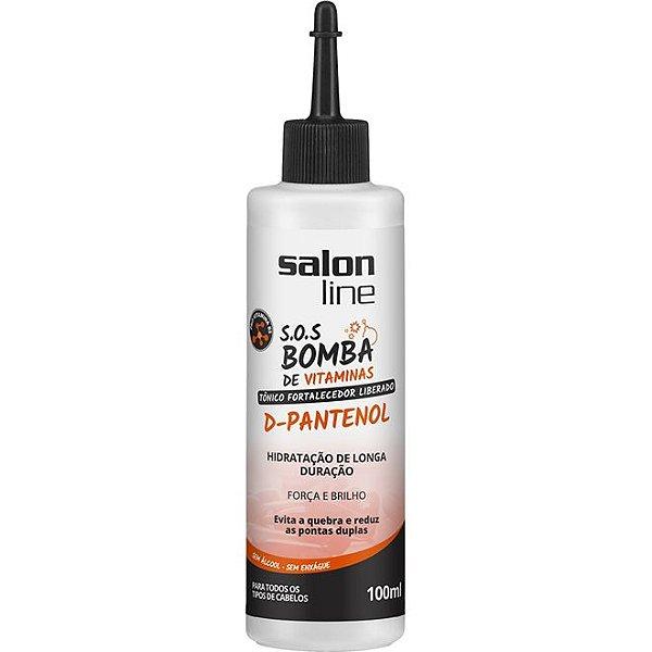 Tônico Fortalecedor D-Pantenol SOS Bomba Salon Line 100ml