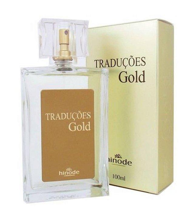 Perfume Masculino Traduções Gold Hinode 100ml