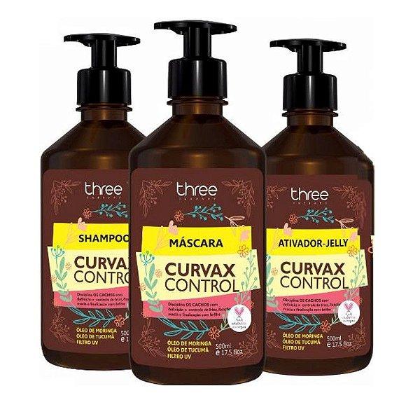 Kit Curvax Control Three Therapy 500ml