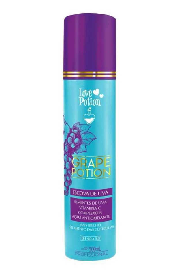 Escova de Uva Grape Potion Love Potion 500ml