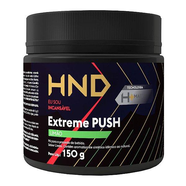 HND Pré Treino Extreme Push Hinode 150g Sabor Limão