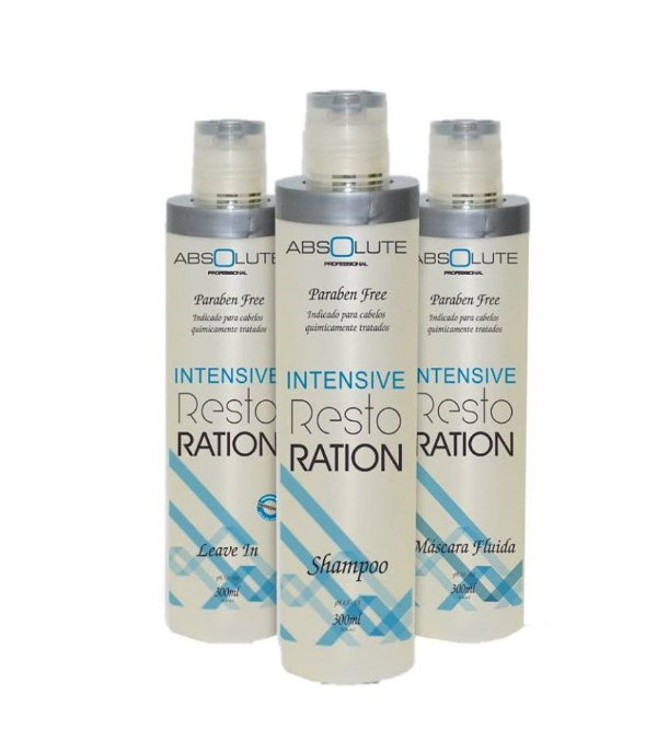 Kit absolute Intensive Restoration Home Care Absolute Cosméticos