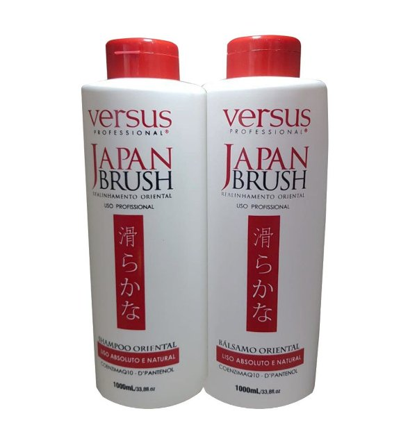 Escova Progressiva Japan Brush Versus 2x1L