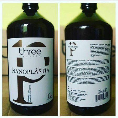 Escova Nanoplastia  Three Therapy 1L
