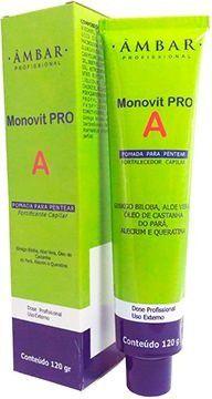 Crescimento Capilar Monovit PRO A Pomada 120g