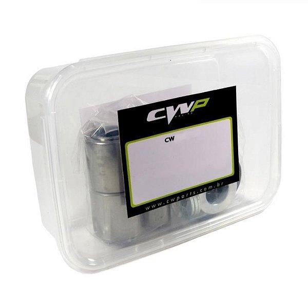 Kit Rolamento Balança Crf 250 04/09 Crfx 250 04/17 Cwp