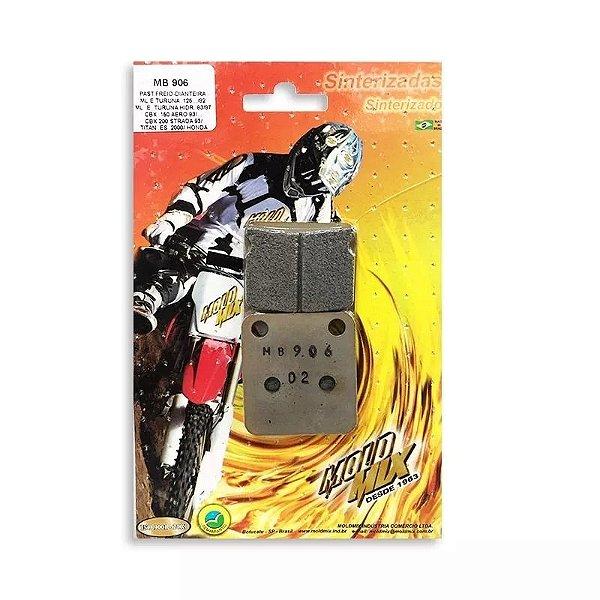 Pastilha de Freio Traseira Kx 100 89/19 Mold Mix