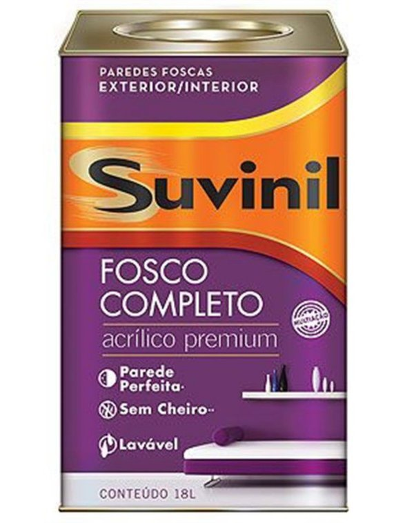 Acrílico Fosco Premium 18L Suvinil