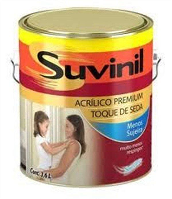 Acrílico Acetinado 3,6L Toque Seda