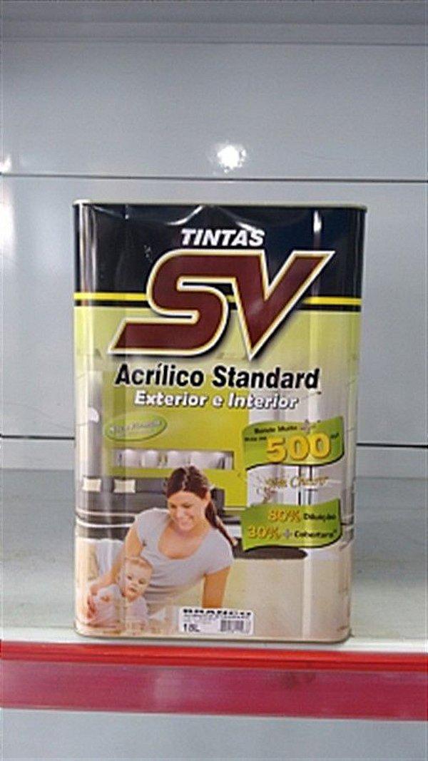 Acrilico Fosco Standard  18L SV