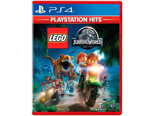 Jogo Game Lego Jurassic World - PS4