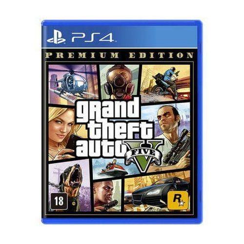 Jogo Game GTA V Premium Edition - PS4