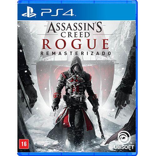 Jogo Game Assassin's Creed Rogue Remasterizado - PS4