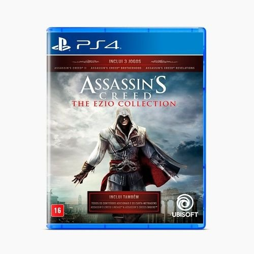 Jogo Game Assassins Creed The Ezio Collection - PS4