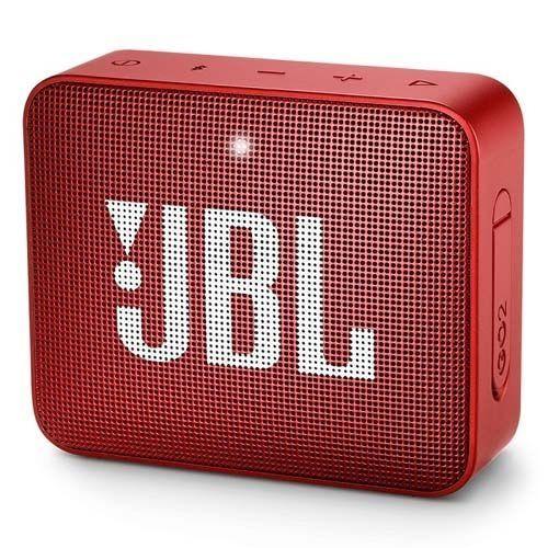 Caixa de Som GO 2 Vermelho Bluetooth Prova D'Água - JBL