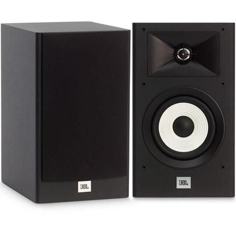 Caixa de Som Monitor de Áudio JBL Stage A130 Par Preto