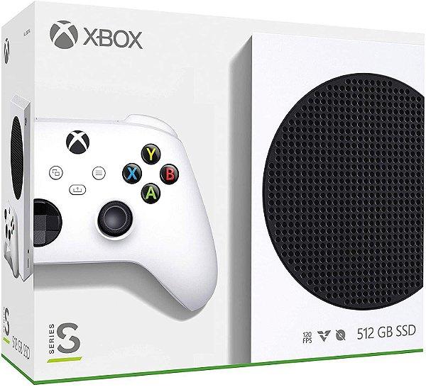 Video Game Console Xbox Series S 512GB Branco