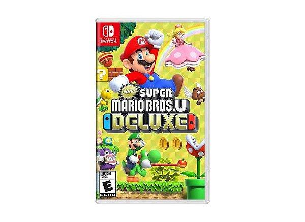 Jogo New Super Mario Bros U Deluxe Nintendo Switch
