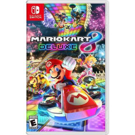 Jogo Mario Kart 8 Deluxe Edition Nintendo Switch
